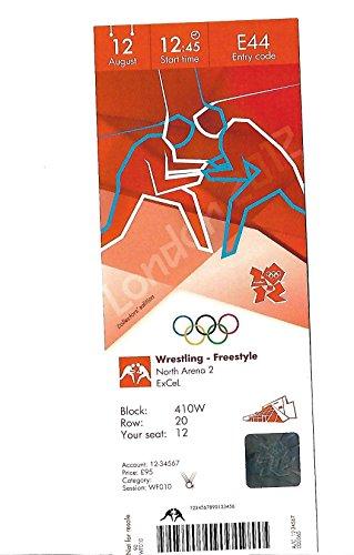 Olimpiadi di Londra 2012, Edizione da Collezione, Replica Biglietti–Wrestling Event Coppia