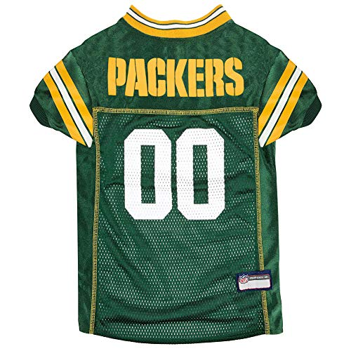 NFL GREEN BAY PACKERS DOG Jersey, X-Large