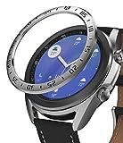 Ringke Bezel Styling Diseñado para Funda Samsung Galaxy Watch 3 (41mm), Carcasa Diseño Elegante Único Acero Inoxidable para Galaxy Watch 3 41mm (2020) - Silver [41-01]