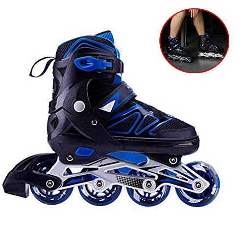 Buy Bargain Adjustable Inline Skates for Kids and Adults Roller Skates Children Men and Women New PU...