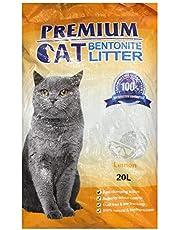 Premium Cat Bentonite Litter 20L Lemon