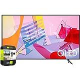 SAMSUNG QN43Q60TAFXZA 43 inch Class Q60T QLED 4K UHD HDR Smart TV 2020 Bundle with 1 Year Extended...