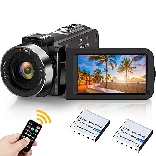 Camcorder 2.7K, Weton Digital Video Camera 42.0MP UHD IR Night Vision...