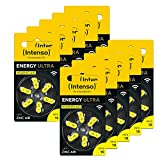 60x Intenso Energy Ultra Hörgeräte Batterie PR70...