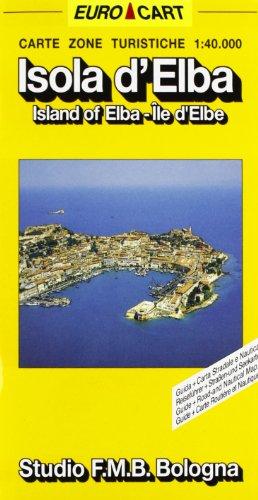 Isola d'Elba 1:40.000. Con guida multilingue