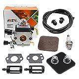 C1Q-S97 Carburetor with Fuel Repower Kit Air Filter for STIHL FS75 FS80 FS80R FS85 FS85R FS85T FS85RX String Hedge Trimmer Weedeater C1Q-S71 C1Q-S97 C1Q-S143 C1Q-S153 C1Q-S186