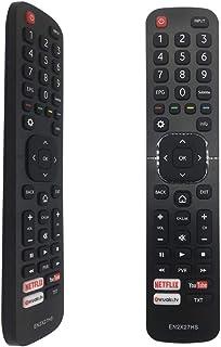 FOXRMT - Mando a distancia EN2X27HS para Hisense UHD Smart TV 65K5500UWTS H32M2600 H40M3300 H40MEC3350