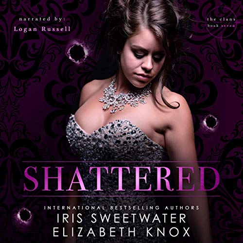 Shattered Audiobook By Elizabeth Knox,                                                                                        Iris Sweetwater cover art