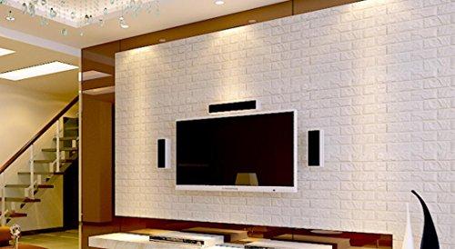 GYX Piastrelle impermeabile modello solido paraurti schiuma schiuma elastica delle mattonelle autoadesive parete adesivi 3D carta da parati