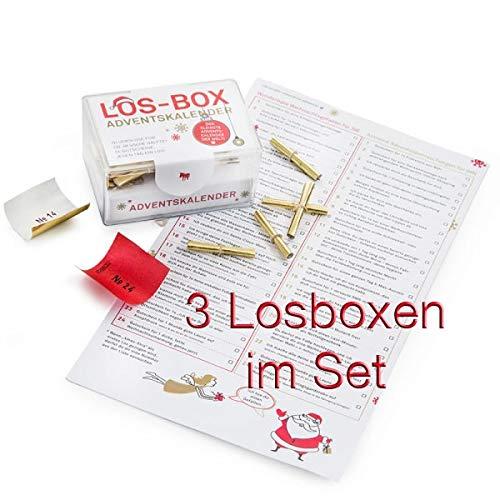 DONKEY Los-Box Adventskalender 3er Set