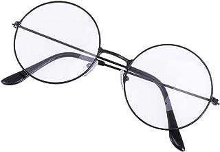 KESYOO Óculos Redondos Pretos Retrô Óculos Bloqueadores de Luz Azul Óculos Anti-Luz Azul Proteção Contra Luz Azul para Lei...