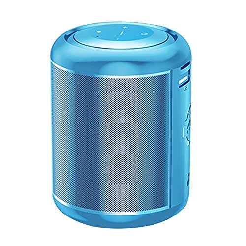 Altavoz Bluetooth Portátil Subwoofer Estéreo 3D, Efecto De Sonido De Alta Fidelidad, Interconexión TWS, Gran Capacidad De Batería,Azul