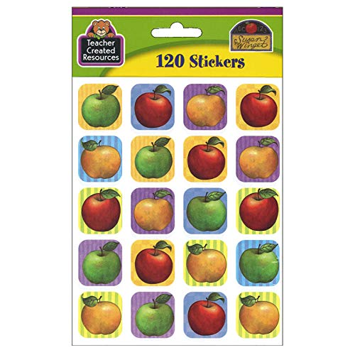 Teacher Created Resources Apple Stickers from Susan Winget, Multi Color (5726) Photo #2