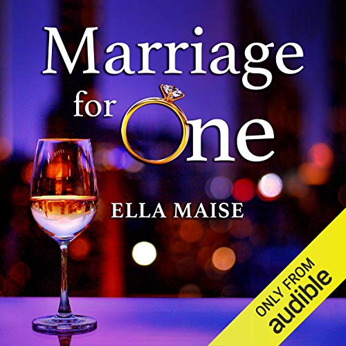 Marriage for One cover art