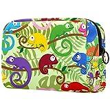 Bolsa de cosméticos para mujeres, adorables bolsas de maquillaje espaciosas para viajes, accesorios para regalos, avión de dibujos animados