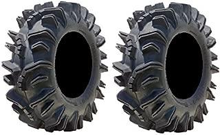 Pair of Super ATV Terminator (6ply) ATV Mud Tires 26.5x10-14 (2)
