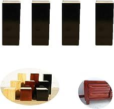 GWFVA Solid Wood Meubelpoten, TV Bureau Tafelpoot, Tafel Voet Kast Voeten Voetstoelen, Set voor 4, voor Kasten Stoel Nacht...