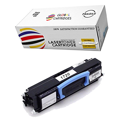 GLB Premium Quality Compatible Dell 1720 310-8709 GR332 Black Laser Toner Cartridge Replacement for Dell 1720 1720dn Printers