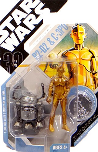 Star Wars McQuarrie Concept C-3PO & R2-D2 Celebration Europe Excl.