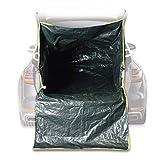 Hoberg Kofferraum-Transportsack   für Gartenabfälle, Bauschutt & Holz   reißfestes PE-Gewebe 120g/m²   universelle Passform [45 kg Tragfähigkeit]