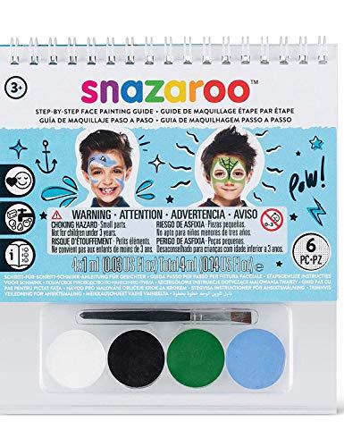 Generique - Mini kit Maquillage garçon Snazaroo avec livret