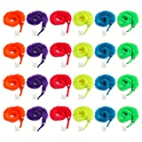Tanlee 72 Pieces Magic Wiggly Fuzzy Worm Magic Worm Toys for Party Supplies, Random Color (72 Pieces)