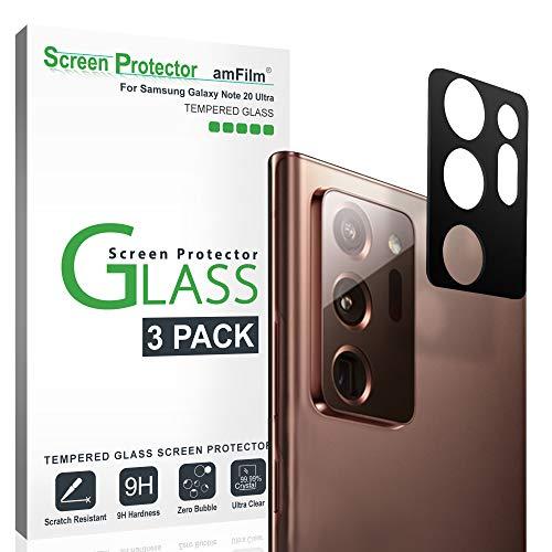 amFilm Galaxy Note 20 Ultra Kamera Schutzfolie (3 Stück), Panzerglas Displayschutzfolie für Hintere Kamera Samsung Galaxy Note 20 Ultra (2020)
