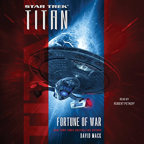 Titan: Fortune of War                   By:                                                                                                                                 David Mack                               Narrated by:                                                                                                                                 Robert Petkoff                      Length: 9 hrs and 58 mins     314 ratings     Overall 4.5