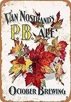 1880のヴァンノストーンズのP B .エールビール