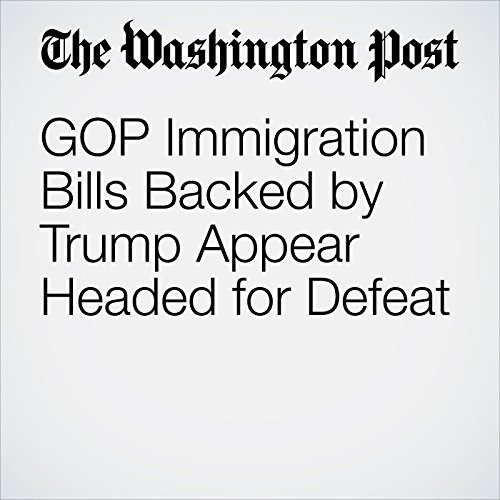 GOP Immigration Bills Backed by Trump Appear Headed for Defeat copertina