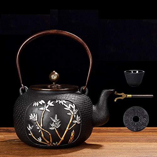 Cast Iron Teapots Handmade Tea Maker Iron Kettle Steadily Rising 1.2L