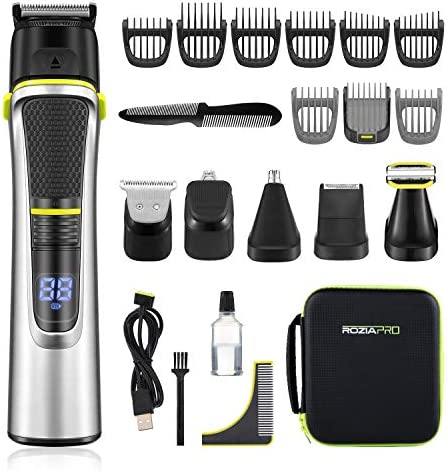 Roziapro Beard Trimmer for Men 15 in 1 Mens Grooming Kit Cordless Hair Clippers for Men Nose product image