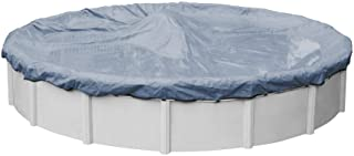Pool Mate 4630PM Classic Winter Pool Cover for Round Above Ground Swimming Pools, 30-ft. Round Pool