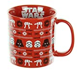 Vandor Star Wars Ugly Sweater Holiday 20 Oz. Ceramic Mug (99662)
