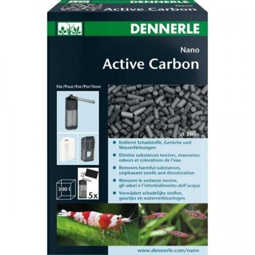Dennerle Nano Active Carbon 300ml, Innenfilter, Filtermaterial