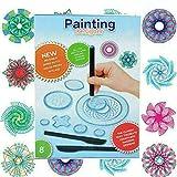Juego de 27 piezas de espirografía, artes y manualidades, dibujos de regla, juguetes creativos de dibujo para niños de la escuela primaria, adecuado para niños mayores de 8 años, regalos para niños