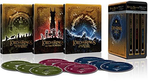 Trilogía El Señor de los Anillos versión extendida - Steelbook 4k UHD [Blu-ray]