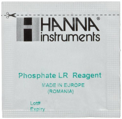 Hanna Instruments HI 713-25 Reagents Phosphate for HI 713 Checker HC (Pack of 25) by Hanna Instruments