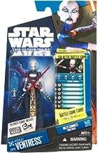 Star Wars 2010 Clone Wars Animated Action Figure CW No. 15 Asajj Ventress
