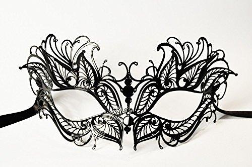 JapanAttitude Masque loup vénitien élégant gothique Petalo, pétale