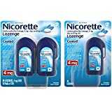 Nicorette Lozenges Coated Ice Mint Nicotine To Stop Smoking, 4 Mg, 100 Count