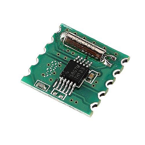 DIMENXONG Conjuntos y componentes electrónicos DIY Radio FM estéreo Módulo RDA5807M módulo inalámbrico for RRD-102V2.0
