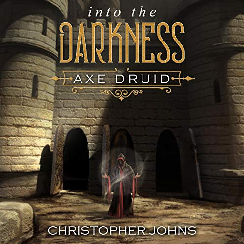 Into the Darkness: A Fantasy LitRPG Adventure audiobook cover art