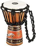 MeinlHDJ5-XXS Mini-djembé en bois tendu par des cordes Série Percussion Headliner Motif python Diamètre 11,4 cm