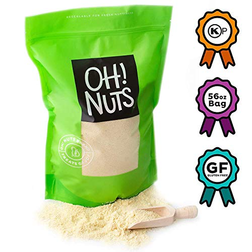 Oh! Nuts Blanched Almond Flour Kosher for Passover | Gluten-Free Extra Fine