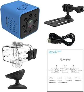 Blesiya 30mm 1.2'' Micro Camera,SQ23 HD Camcorder Night Vision 1080P Sport DV Camera Infrared Car DVR Motion Detection - Blue