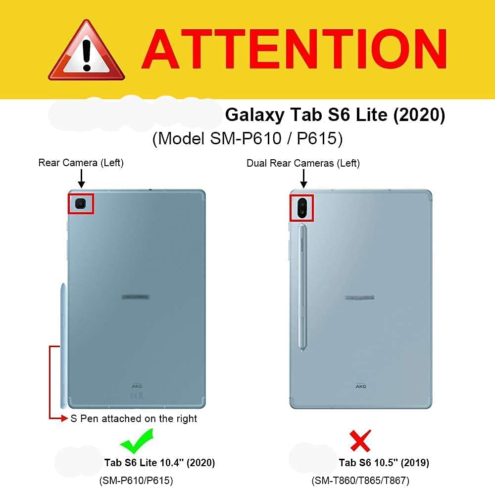 Galaxy Tab S6 Lite Stylus Pen Replacement for Samsung Galaxy Tab S6 Lite (EJ-PP610) Stylus Touch S Pen (Angora Blue)