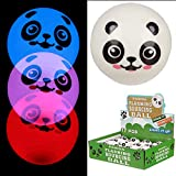 Puckator Fun Kids-Pelota de Panda Intermitente