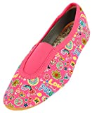 Beck Happy, RIST, Zapatillas de Gimnasia Niñas, Rosa Pink Pink 06, 19 EU