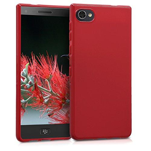 kwmobile Hülle kompatibel mit BlackBerry Motion - Handyhülle - Handy Hülle in Rot matt